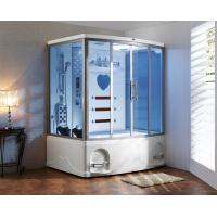 Wholesale Thickness 6mm 1350W FIR KY0211CA K083 infrared sauna steam shower room combination from china suppliers