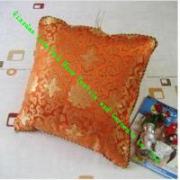 Quality Square Knitted Quilted Silk Throw Pillows , Soft Decorative Sofa Cushions for sale