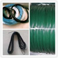 Buy cheap pvc coated wire/ pvc galvanized wire/pvc black annealed wire from wholesalers