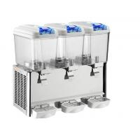 Wholesale Mixing Cooling Hot Orange Juice Dispenser 18L Triple Tank Bowl 1500w from china suppliers