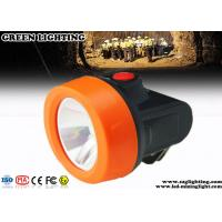 Buy cheap Waterproof Miners Cap Lamp , Explosion Proof Mining Hat Light with USB Charger from wholesalers