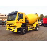 Wholesale 290hp America Motor 4*2 Concrete Mixing Equipment Howo 8CBM Capacity 300L from china suppliers