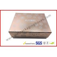 Wholesale Eco Friendly Luxury Cosmetic Packaging With Hot Stamping Process , Rectangle Shaped from china suppliers