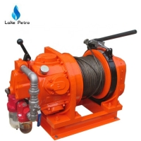 China Capacity JQHSA15 Auto Disc Brake Air Winch      Equipment For Drilling on sale