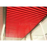 Wholesale Colorful Integration aluminum linear ceiling system For Bathroom Ceiling Tiles from china suppliers