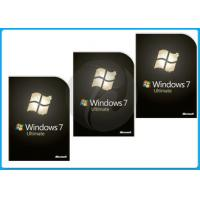 Quality DVD 32 bit / 64 bit Windows 7 Pro Retail Box Windows 7 Softwares OEM for sale