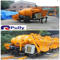 Wholesale Pully JBT40-P1 hydraulic trailer concrete mixer pump, concrete pump mixer, concrete pump from china suppliers