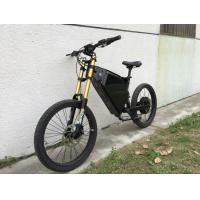 Quality High Speed 1500w Full Suspension Powerful Electric Bike Steel Frame For Different Road for sale