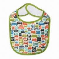 Wholesale Water-rresistant Baby Bib, Available in Different Sizes and Designs from china suppliers