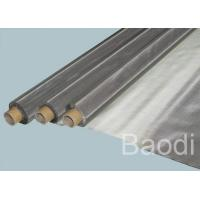 Wholesale Non Toxic Smell Woven Stainless Steel Mesh  Screen Corrosion / Acid Resistant from china suppliers