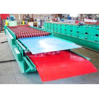 Wholesale Double Layer Roll Making Machine , Corrugated Iron Roof Making Machine from china suppliers