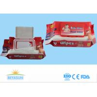 Wholesale Spunlace Non Woven Wet Wipes Z / C Fold , Portable Travel Baby Face Wipes from china suppliers