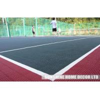 Wholesale Waterproof Interlocking And Anti-Slip Plastic Badminton Court Flooring from china suppliers