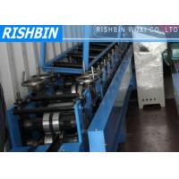 Wholesale 8 - 12 m / min Steel Roll Forming Machine with Fly Saw Cutting System from china suppliers