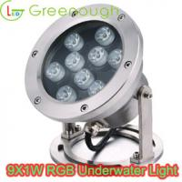 Wholesale 9X1W RGB LED Underwater Light/ Boat Light /Pond Light GNH-UW-9X1W-H from china suppliers