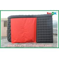 Wholesale Black Ourdoor Inflatable Air Tent 210D Oxford Cloth With Two Doors from china suppliers