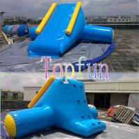 Wholesale Inflatable Water Slide OEM With Artwork Logo / Amusement Water Park Games For Kids from china suppliers