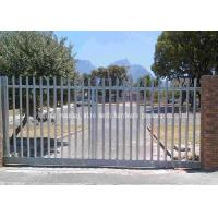 Wholesale Weatherproof Steel Security Palisade Fencing Low Carbon Steel Wire Material from china suppliers