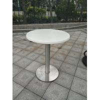 Wholesale Stainless Steel Table leg Outdoor Furniture Cafe Table Water Proof Table base from china suppliers