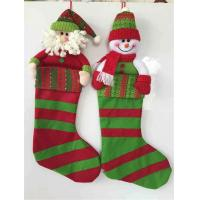 Wholesale Christmas decoration gift stocking christmas holiday decoration christmas sock design from china suppliers