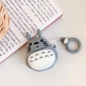 China cartoon super cute Japanese tonari totoro for apple airpods charging box case protective earphone cover on sale