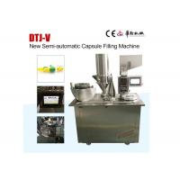 Wholesale New Condition Semi Auto Capsule Filling Machine with Capacity 22,500 capsules per hour from china suppliers