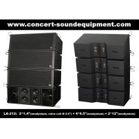 Wholesale Dual 12 Inch 1560W Line Array Speaker With Neodymium Drivers For Concert , Living Event from china suppliers