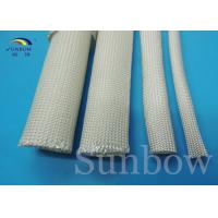 High temperature 400- 600 degree uncoated fiberglass tube cable sleeving