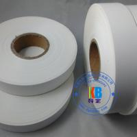 Wholesale Blank woven clothing care label nylon taffeta polyamide printed label 25mm*200m  for thermal transfer printing from china suppliers