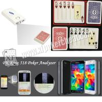 Wholesale Modiano Adjara Plastic Marked Playing Cards for Poker Scanner Analyzer Reader from china suppliers