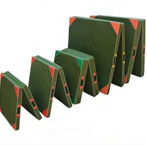 Wholesale 50cmx100cmx5cm  60cmx120cmx10cm PU+EVA Foam/ Oxford cloth Folding Gym Mat from china suppliers