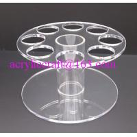 Wholesale HIGH QUALITY ACRYLIC ROUND ICE CREAM CONE HOLDER DISPLAY STAND CARRIER from china suppliers