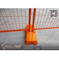 Wholesale 2.1m high Orange and Yellow color Portable Temporary Fencing Panels for commercial | AS4687 NZS3750.15 from china suppliers