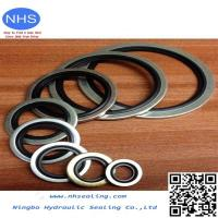 Buy cheap PTFE/EPDM Bonded Seal/Customized Rubber Edge Seal Bonded to Metal from wholesalers