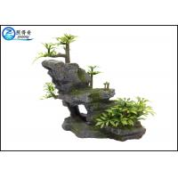 Wholesale Mountain Aquarium Fish Tank Resin Ornaments For Decorating With Plants from china suppliers