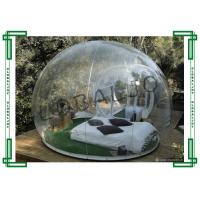 Wholesale 6m Diameter Transparent Inflatable Air Bubble Tent For Beach Sight Seeing from china suppliers