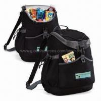 China Cooler Backpack with PEVA/Non PVC Lining, 24 Can Capacity and Top Bungee Cord for Extra Storage on sale