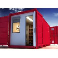 Wholesale Environmental Living Steel Container Homes , 20 Feet Container House For Workers' Dorms from china suppliers