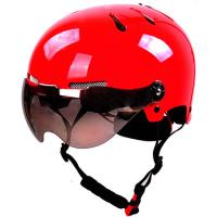 Wholesale Red helmet with sport goggles snowboarding gear for head protection from china suppliers