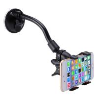 Wholesale Long Arm Car Cellphone Holder With 360 Degree Rotation Suction Cup from china suppliers