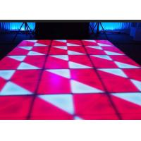 Wholesale Portable DJ Stage LED Dance Floor Indoor For Wedding Bar Club / Events , DMX Control from china suppliers