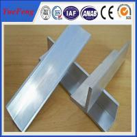 Wholesale 2015 new products mill finish 6063 customized aluminum angle aluminum extrusion profile from china suppliers