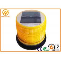 Wholesale High Brightness LED Solar Beacon Flashing Safety Warning Light With Magnetic Base from china suppliers