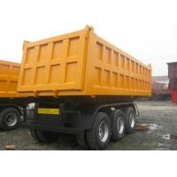Wholesale 3 Axle Dump Truck Trailer 20 Ton 30 Ton 40 ton 50 Ton For Construction Material from china suppliers