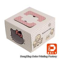 Wholesale Square 10 Cardboard Folding Cake Boxes Custom Printed For Packaging Cake from china suppliers