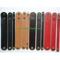 Wholesale Leather Bracelets,Leather Wristbands,2 DIY Wristbands from china suppliers