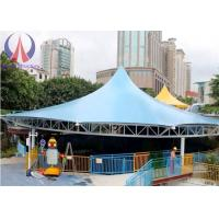 Wholesale Modern Universal Fabric Canopy Structures , Park Shade Structures Fabric Covered from china suppliers