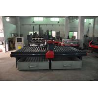 Quality high efficiency two heads cnc air colling machine price 2060 cnc metal cutting machinery for sale