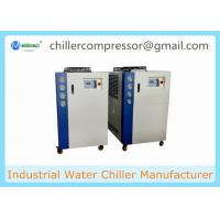 Wholesale 5HP-20HP Scroll Type Air Cooled Water Chiller for Milk Cooling from china suppliers
