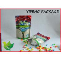 Wholesale 100g 200g 500g Tea Packaging Plastic Stand Up Pouch With Zipper On Top from china suppliers